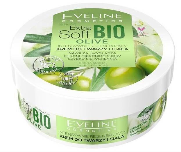Eveline Cosmetics ExtraSoft Krem bioOlive Regenerujący 200ml