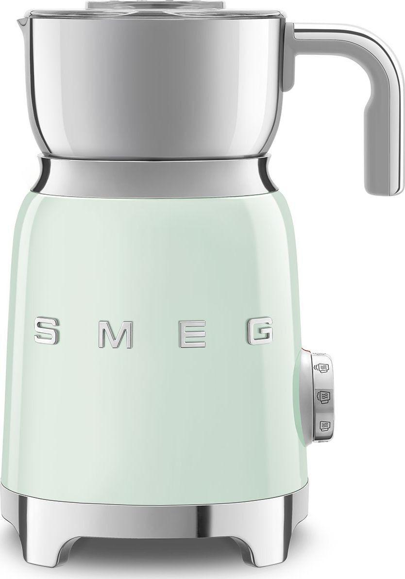 Spieniacz do mleka Smeg Zielony MFF01PGEU