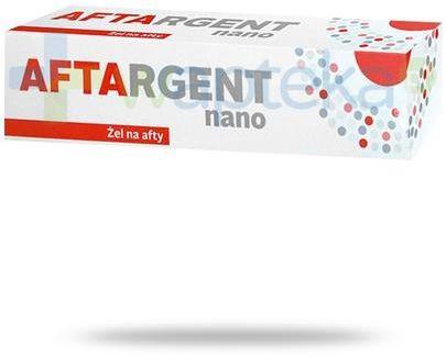 Aftargent Nano żel na afty 15 ml