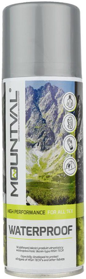 Mountval WaterProof High performance for all tex, Impregnat 200ml,5908226919494