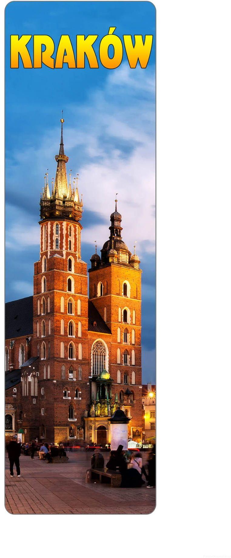Zakładka do książki 2D - Kraków