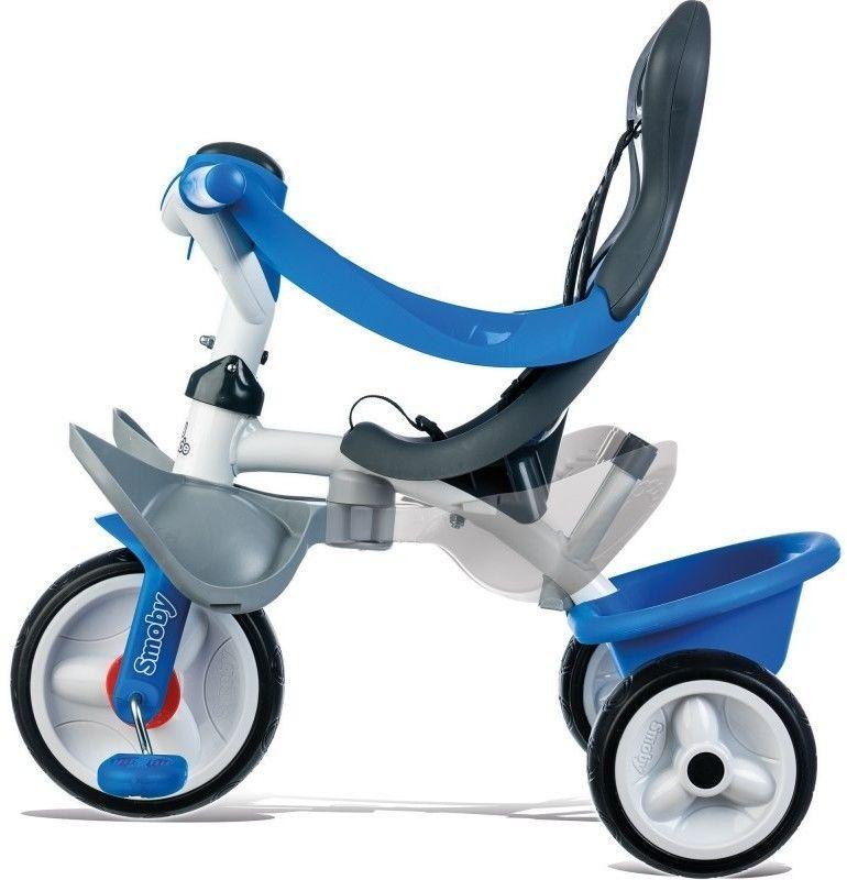 Smoby Rowerek Baby Balade niebieski 741102