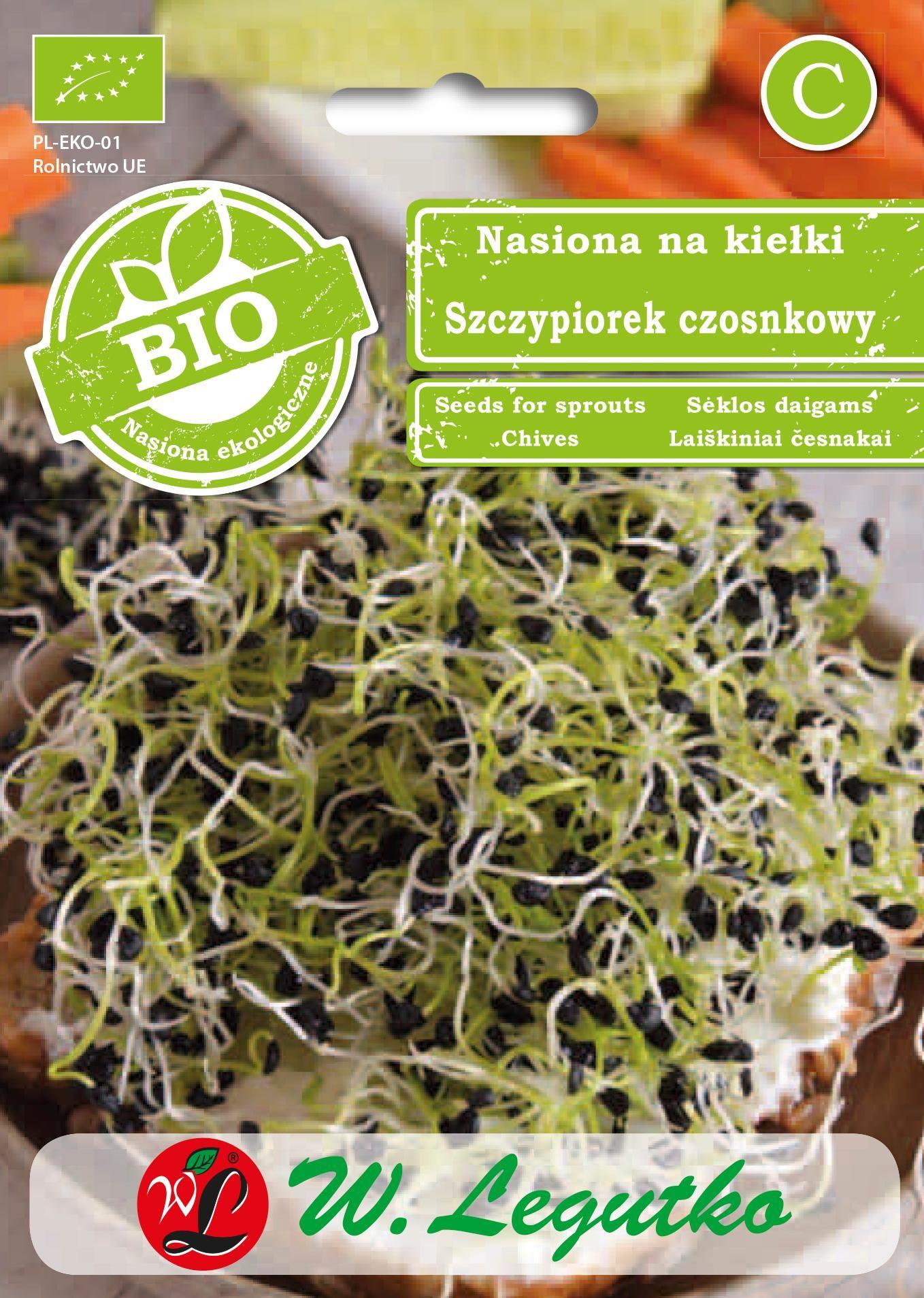Nasiona Szczypiorek Medium Leaf BIO 1g - Legutko