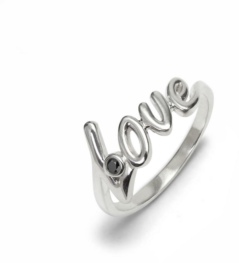 Kuźnia Srebra - Pierścionek srebrny, Czarny Onyks, 2g, model