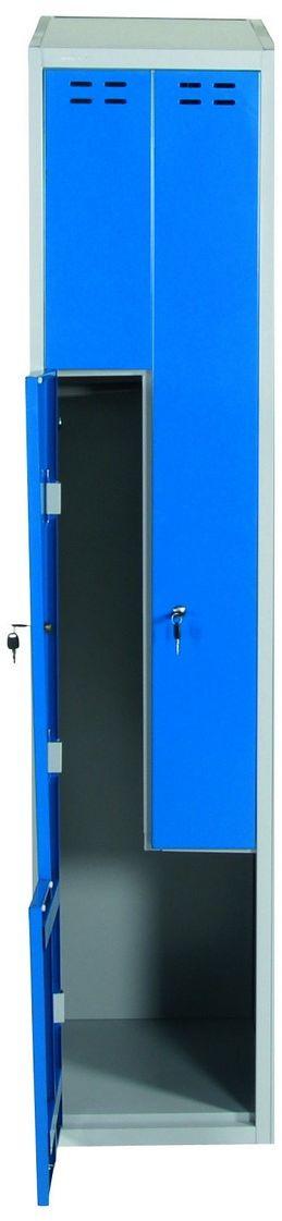 Szafka ubraniowa typu L wym. 1920x400x550 mm (kolor: niebieski)