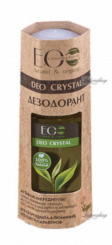 ECO Laboratorie - Deo Crystal - Dezodorant do ciała - Kora dębu i zielona herbata - 50 ml