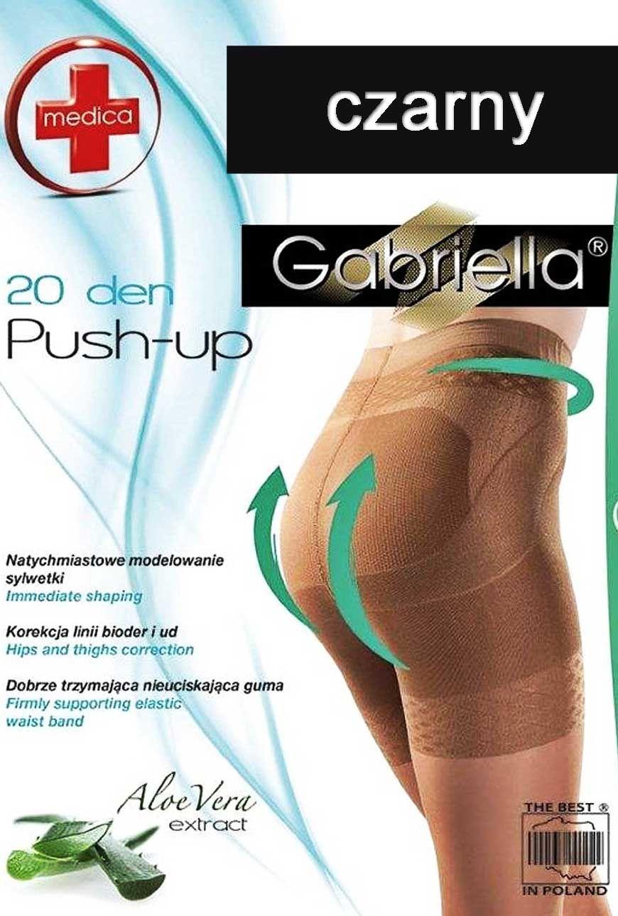 Rajstopy Push-Up (20den) Korygują Linię Bioder i Ud