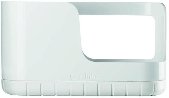 Guzzini - tidy & clean - organizer do zlewu, biały - biały