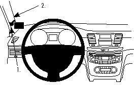 ProClip do Peugeot 508 11-18
