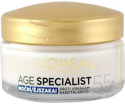 LOréal Paris Age Specialist 55+ krem na noc przeciw zmarszczkom 50 ml