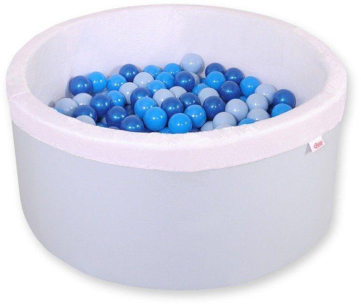Niebieski suchy basen z kulkami dla dzieci 518BM-Bobono, pokój dziecka i zabawki