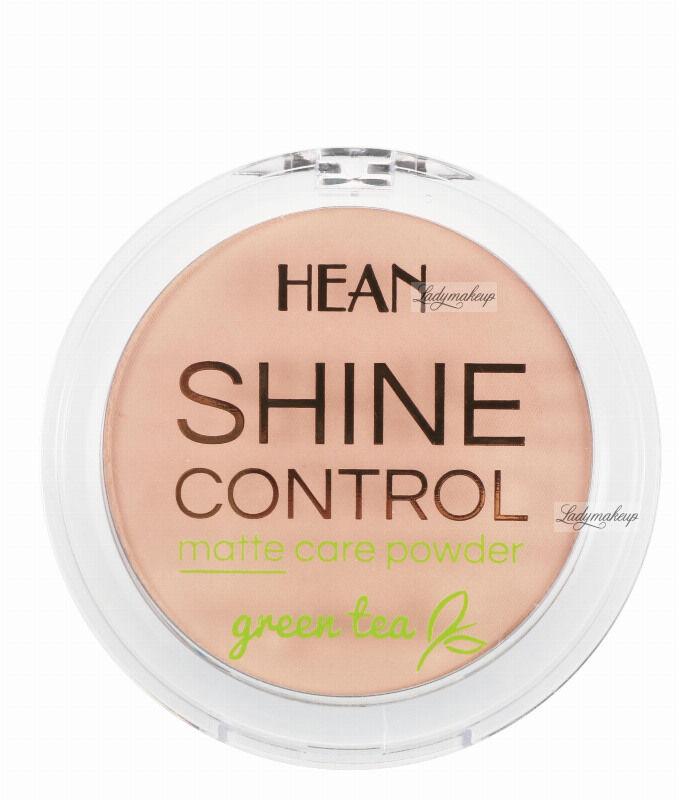 HEAN - SHINE CONTROL - MATTE CARE POWDER - Puder matujący - 6 PEACH / BRZOSKWINIOWY