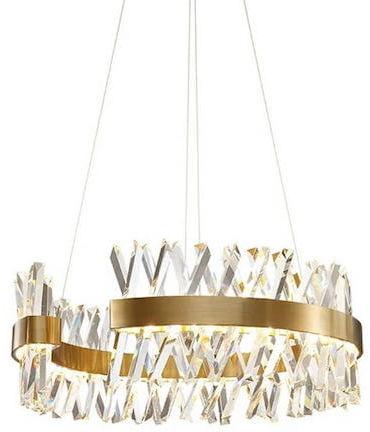 Amsterdam XXX Crystal Prisms - żyrandol kryształowy 80cm