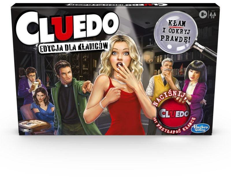 Hasbro - Gra towarzyska Cluedo edycja dla kłamców E9779