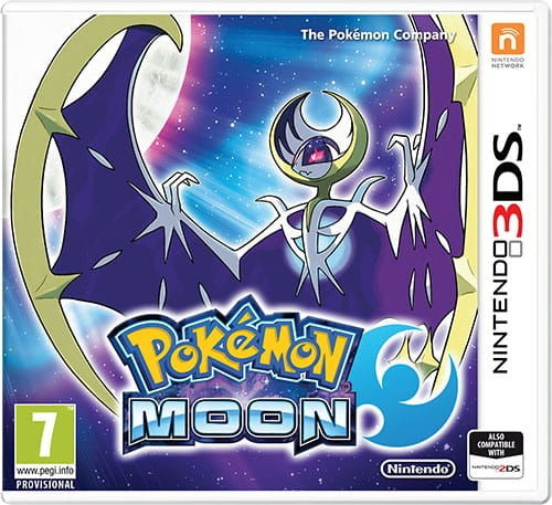 Gra Pokémon Moon (Nintendo 3DS)