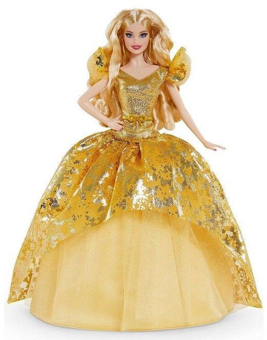Barbie Kolekcjonerska - Lalka w świątecznej kreacji GHT54