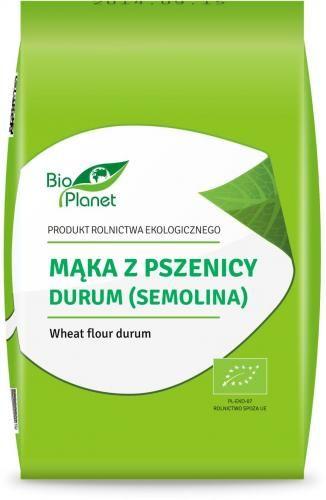 Mąka z pszenicy durum (SEMOLINA) BIO 1 kg Bio Planet