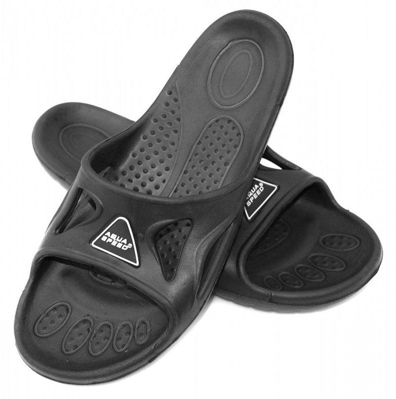 Klapki basenowe AquaSpeed Vento 07 czarne