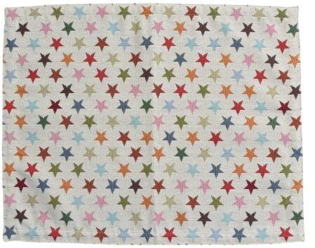 Obrus świąteczny 45x150 cm Gwiazdki