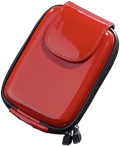Digietui Lakier/glossy Samsung WB seria torba na aparat z miękką wyściółką wewnętrzną czerwona