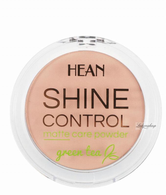 HEAN - SHINE CONTROL - MATTE CARE POWDER - Puder matujący - 4 SUNNY BEIGE / SŁONECZNY BEŻ