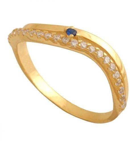 Złoty pierścionek tradycyjny Pn604
