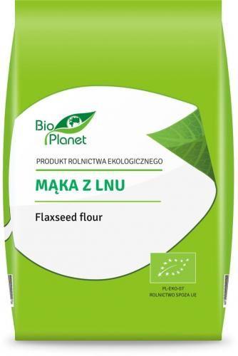 Mąka z LNU BIO 400 g Bio Planet