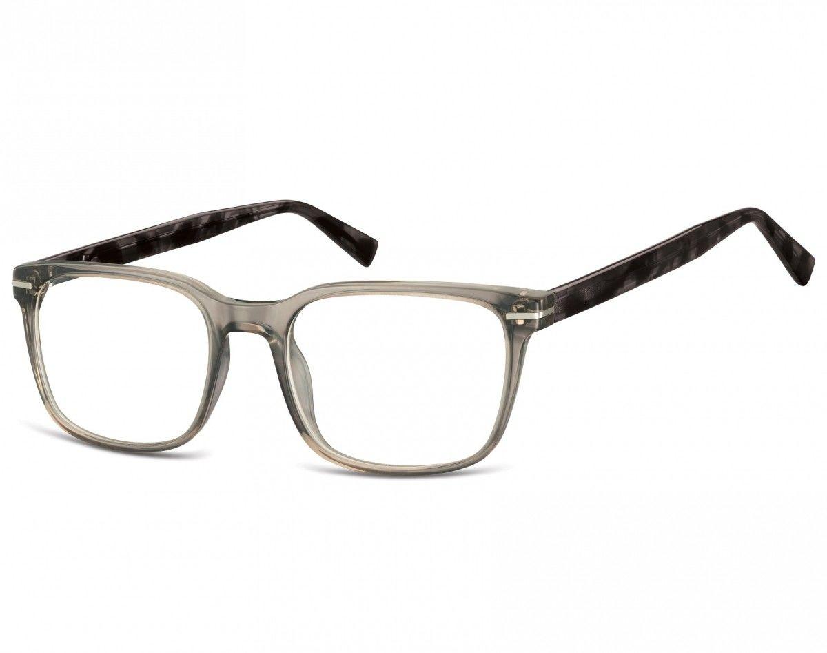 Okulary oprawki korekcyjne Nerdy zerówki Sunoptic CP119Aszare transparentne