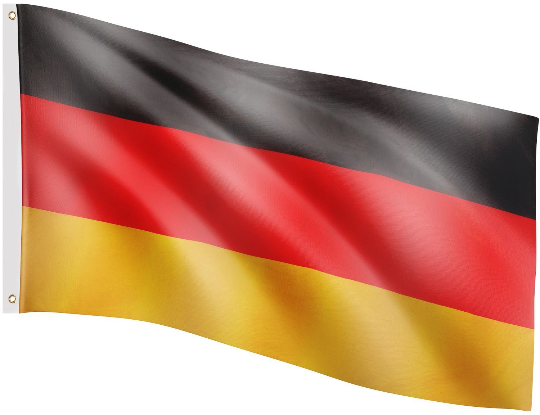 FLAGA NIEMIEC NIEMIECKA 120x80 CM NA MASZT NIEMCY - Niemiec