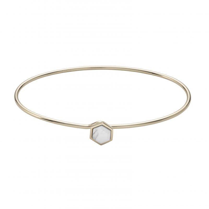 Biżuteria damska CLUSE Jewellery Idylle Marble Hexagon Bangle Bracelet CLJ11002