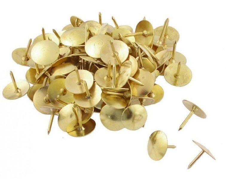 Pinezki złote, opakowanie 50 sztuk -  Rabaty  Porady  Hurt  Autoryzowana dystrybucja  Szybka dostawa