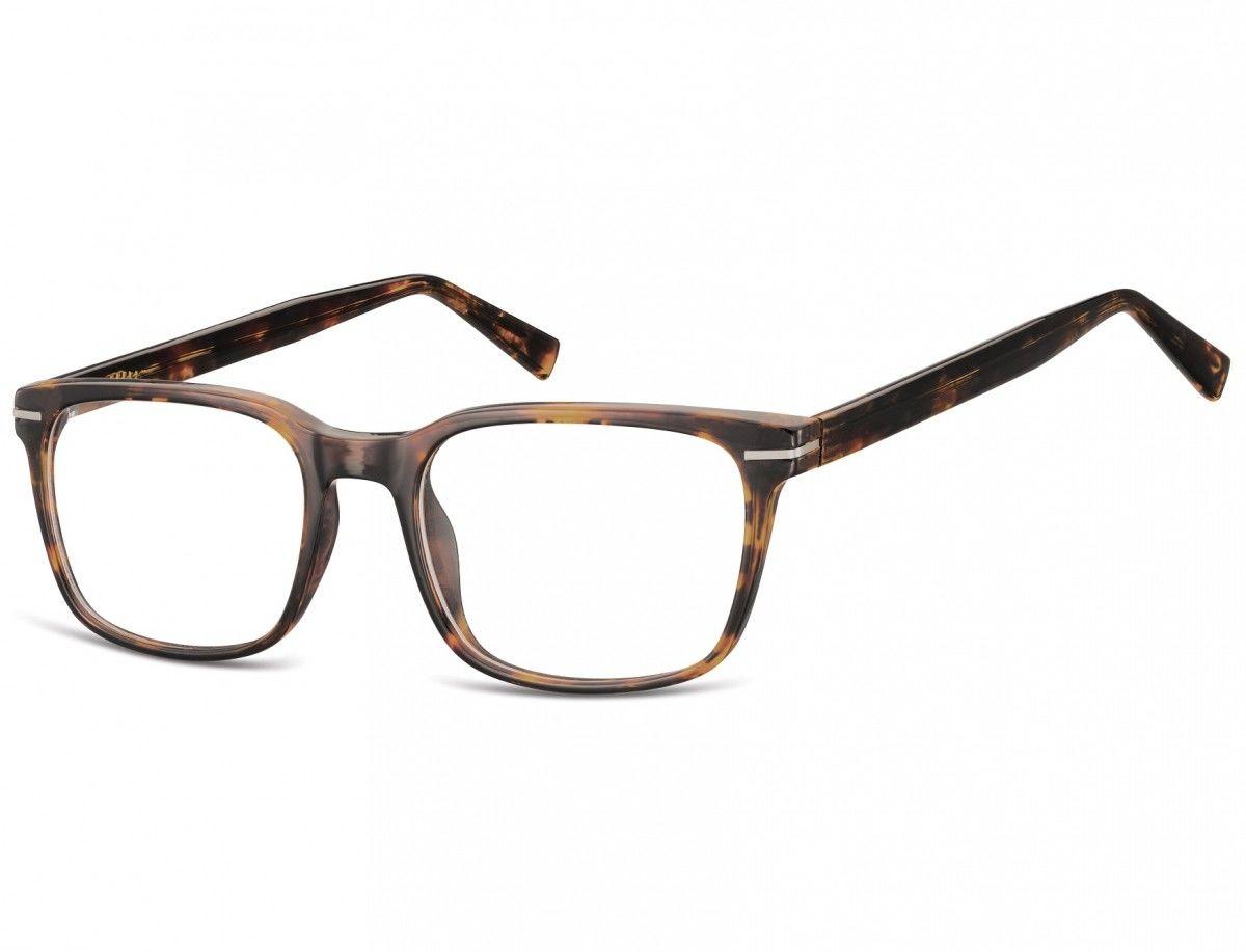 Okulary oprawki korekcyjne Nerdy zerówki Sunoptic CP119C szylkret