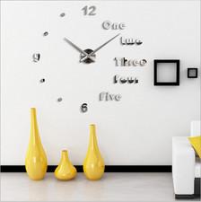 """Zegar ścienny """"zrób to sam"""" cichy #17S4 /315mm"""