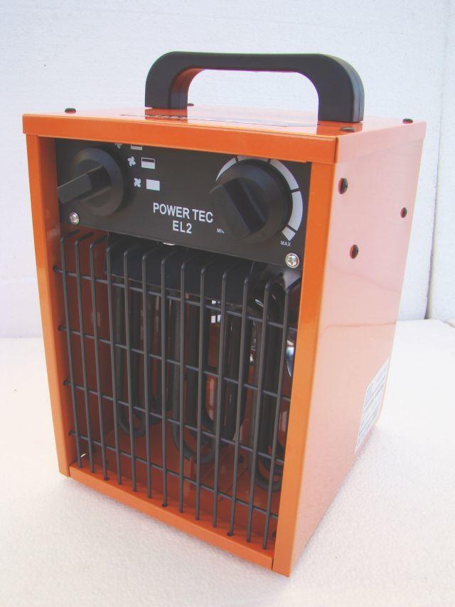 Nagrzewnica elektryczna POWER TEC EL2 2kW