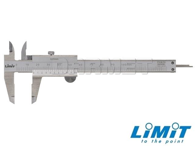 Suwmiarka kieszonkowa, zakres pomiarowy 100MM - Limit (6006-0100)