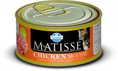 MATISSE CAT MOUSSE z kurczakiem PUSZKI 12X85g.