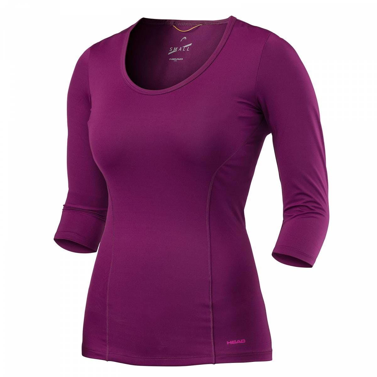 Head Vision 3/4 Shirt W - purple 814477-PU