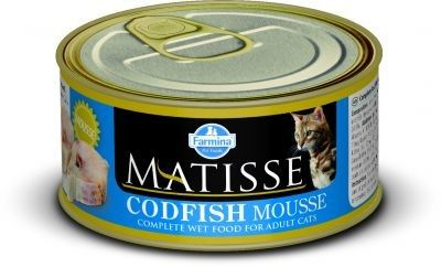 MATISSE CAT MOUSSE z dorszem PUSZKI 12X85g.