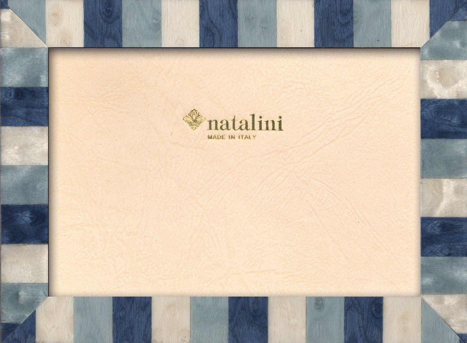 Ramka na zdjęcia Natalini MARQUETRY MADE IN ITALY, Tulipan, niebieski, 12 cm x 18 cm