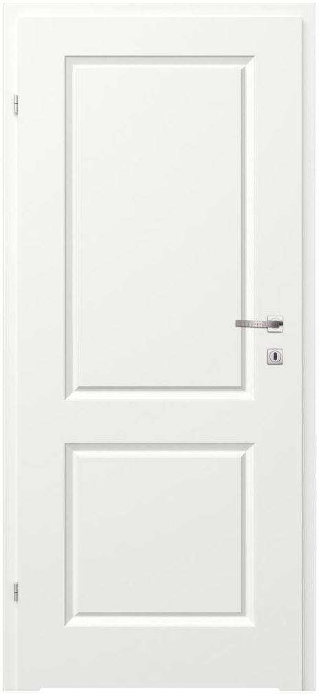 Skrzydło drzwiowe z podcięciem wentylacyjnym MORANO II Białe 70 Lewe CLASSEN