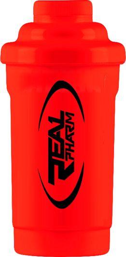 .Real Pharm Shaker 600ml Czerwony