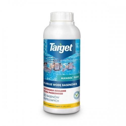 Alkasol flox  klaruje wodę basenową  1 l target