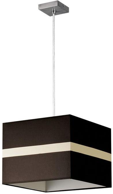 Kwadratowa lampa wisząca z abażurem - EXX88-Lineo