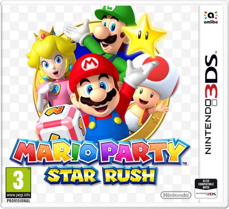 Gra Mario Party: Star Rush (Nintendo 3DS)