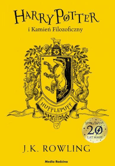 Harry Potter i Kamień Filozoficzny. Hufflepuff ZAKŁADKA DO KSIĄŻEK GRATIS DO KAŻDEGO ZAMÓWIENIA