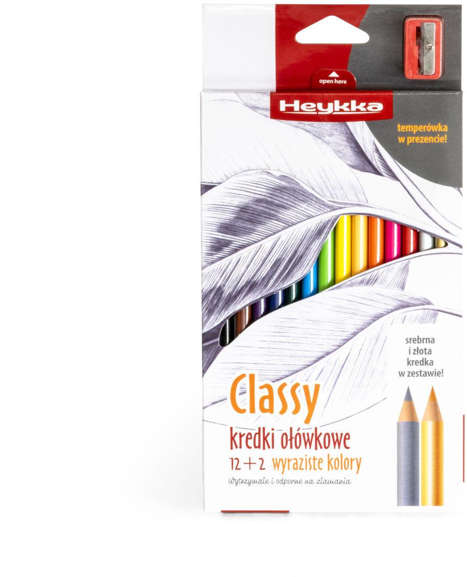 Kredki ołówkowe Classy 14 sztuk