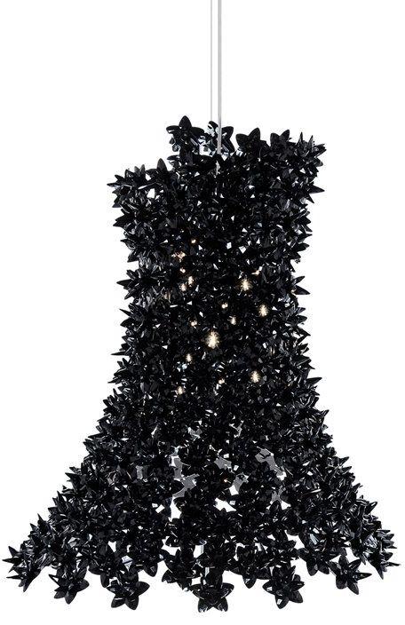Bloom H70 czarny - Kartell - lampa wisząca