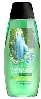 Avon Senses Amazon Jungle szampon i żel pod prysznic 2 w 1 dla mężczyzn 500 ml