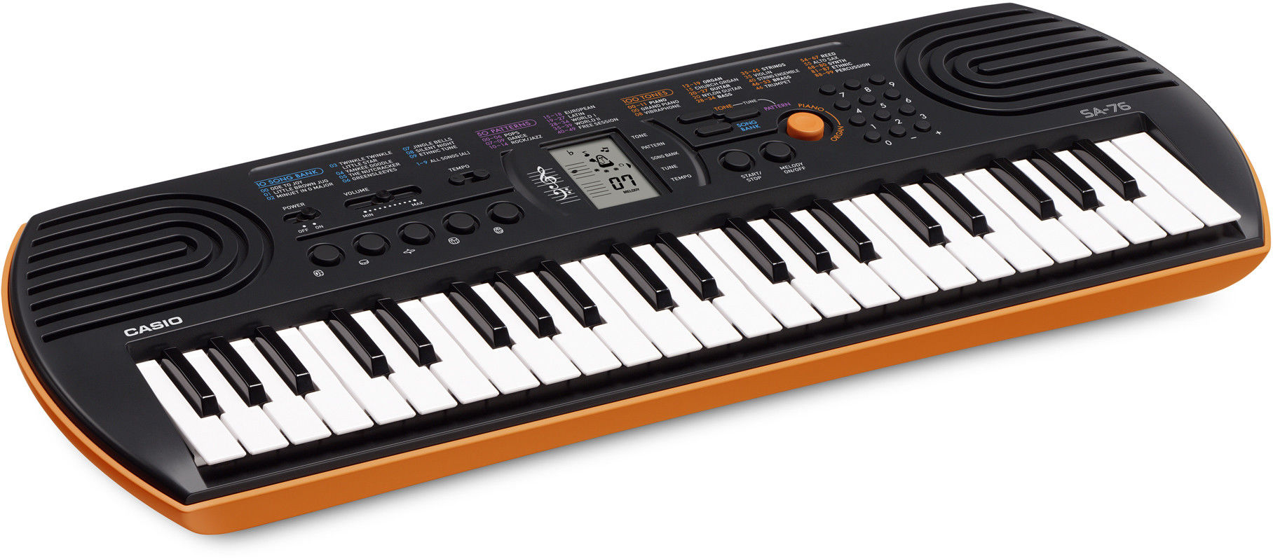 Casio SA-76 - mini keyboard + zasilacz - Raty 30x0%!