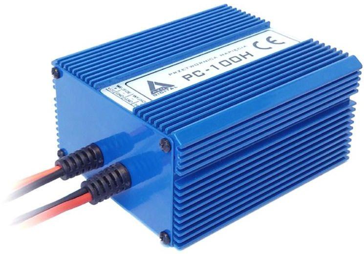 Przetwornica napięcia 10 30 VDC / 13.8 VDC PC-100H-12V 100W IZOLACJA GALWANICZNA Wodoszczelna - pełna izolacja IP67